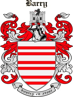 BARRY family crest