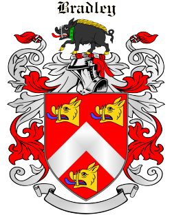 BRADLEY family crest