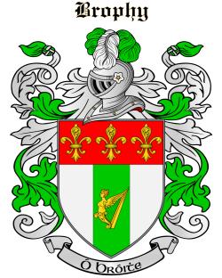 BROPHY family crest