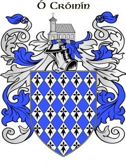 CRONIN family crest