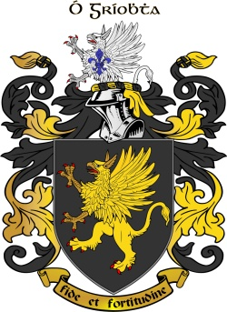 GRIFFIN family crest