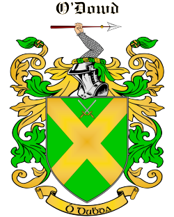 O'DOWD family crest