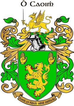 KEEFE family crest