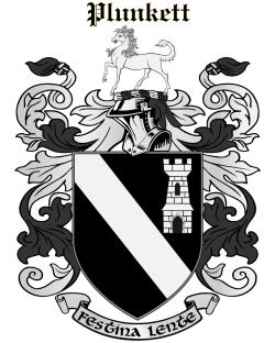 PLUNKETT family crest
