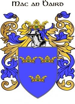 WARD family crest